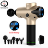 2020 Mini Cordless Body Muscle Massage Gun Electric machine vibration Massager handheld Device