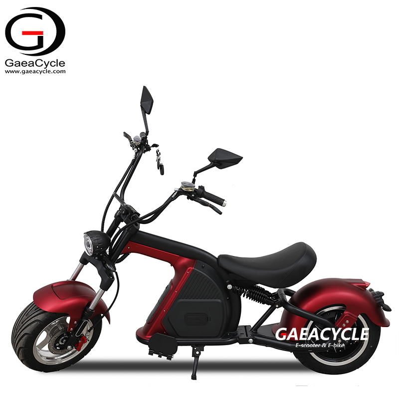 Long Range Electric Scooter 2000w Fat Tire EEC COC Fastest Motorcycle Citycoco Aluminum Alloy Frame