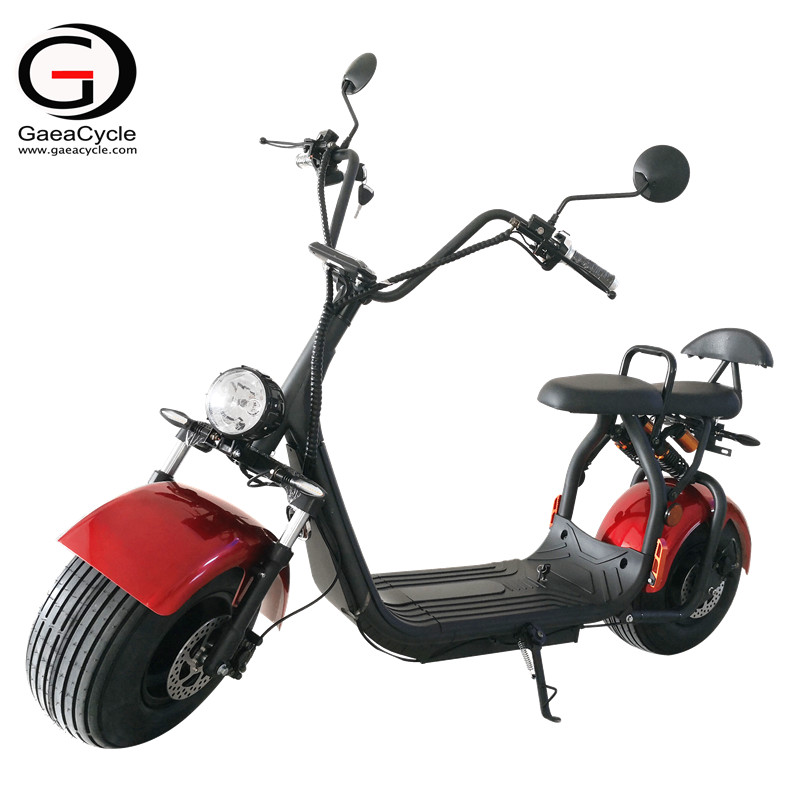 Cheap Fat Tire 1500w Electric Scooter With EEC/COC Certificate