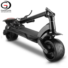 Dual Motor 500W Powerful Electric Scooter Small Folding e Scooter Wide Wheel