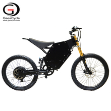 High Power Mountain Electric Bicycle 3000W 5000w Stealth Bomber with Motorcycle Seat