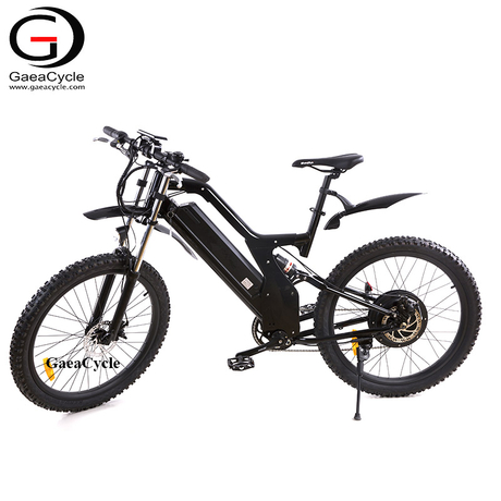 48V 500W Full Suspension Electric Mountain Bicycle 26