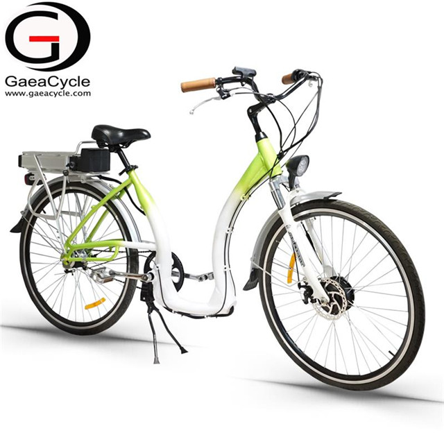700C Electric City Bike 500W For Lady