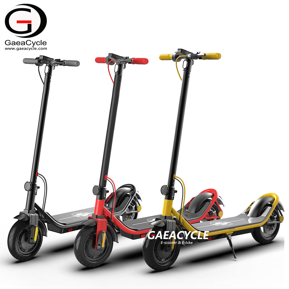 EU Warehouse Stock Electric Scooter 36v 350w 10inch Tire Kick Foldable Escooter
