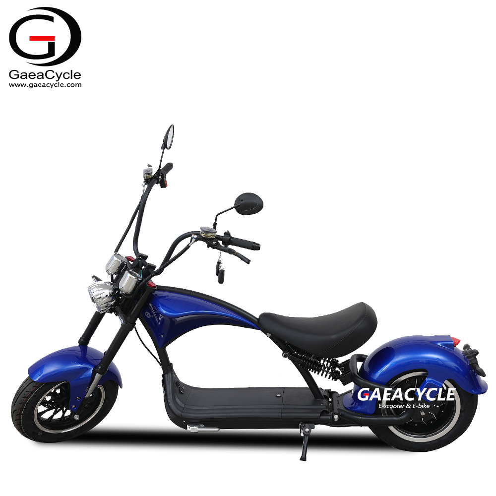 China Sale EEC COC City Coco Electric Chopper Scooter with 2000w Motor for Adults