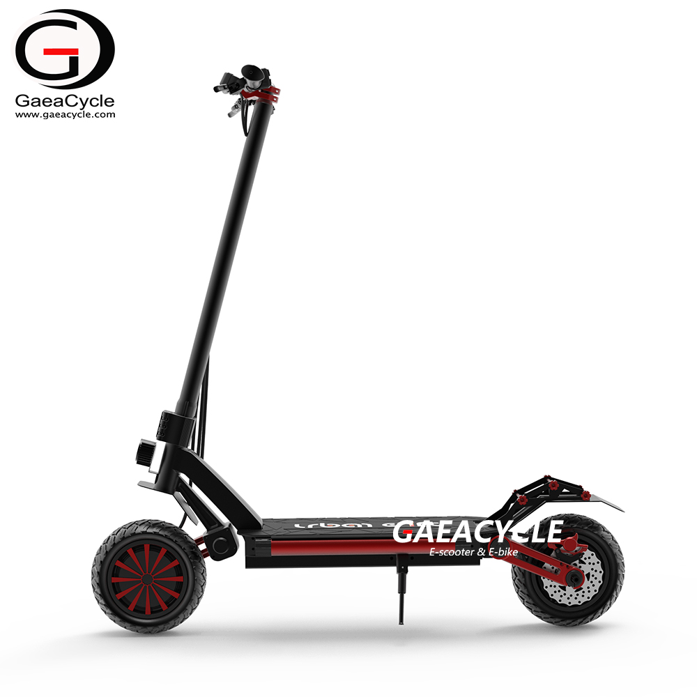 Dual Motor Electric Foldable Scooter Two Wheel Fast 60km/h with 20Ah Battery for Long Range