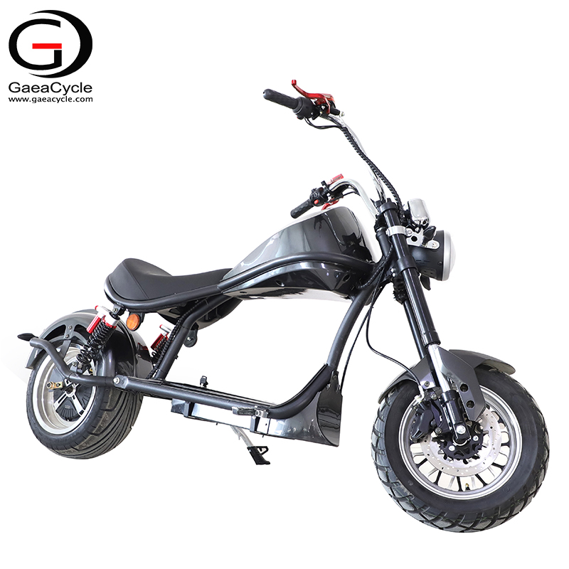 Hot Sale 2000W Citycoco Electric Scooter COC Approved Chopper escooter with Comfortable Seat